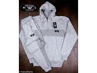 Emporio Armani Tracksuit in Light Grey Size S, L & XL