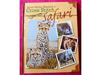 Cross Stitch Safari Book By Jayne Netley Mayhew (Charts) Published By D&C