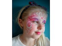 Shiny Happy Faces! Experienced Face Painter for Hire