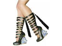 Rare Irregular Choice Unicorn Gladiator Shoes/Boots, Size 5, Brand New