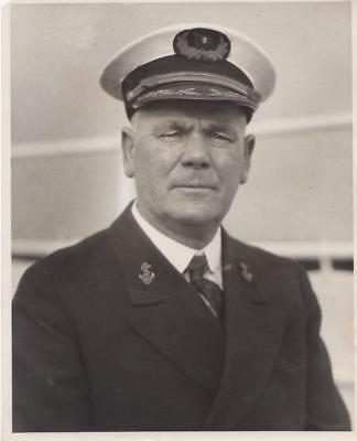 Captain F.E. Anderson 12/27/1934 - military still