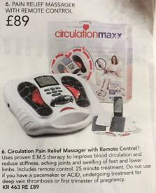 Ciculationmaxx foot and leg Pain relief massager