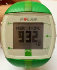 Heart Rate Monitor POLAR Watch (FT4) + Chest Strap + Heart Rate Sensor