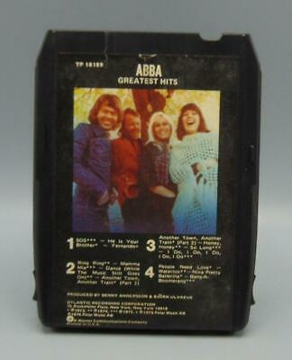 ABBA Greatest Hits 8-Track Stereo Tape Cartridge