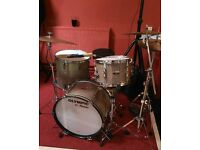1973 Olympic Drum Set in Lavevder Sparkle
