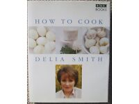 How to Cook by Delia Smith, like new.