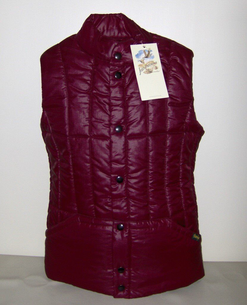 """Quilted Gilet/body warmer (John Partridge 38"""" (97cm) unworn, still labelled (wrong size bought)"""