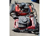 Petrol lawnmowers, strimmers, hedgecutters, chainsaws, rotovarors, pressure washers etc. . . .