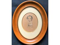 Annie Dixon (1817-1901) 19thc PORTRAIT MINIATURE OF: ROYAL Caroline of Brunswick