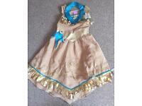 Pocahontas dress up age 3-4