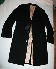 "Brand new Paul Smith Black Corduroy Coat Jacket Size 38""/96cm."