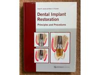 Dental Implant Restoration by Jacobs & O'Connell (Hardcover, New)