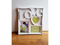 *NEW* white, picture/photo frame