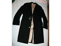 "Brand new Paul Smith Black Corduroy Coat Jacket Size 38""/96cm."