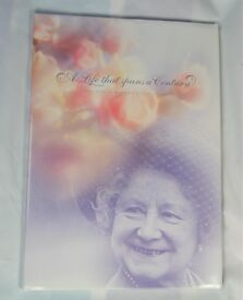 The Queen Mother 100th Birthday Mint Stamp Book from New Zealand 32 page book