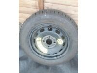 £30 - NEW UNUSED Ford Fiesta 175 65 14 GOODYEAR full size spare wheel