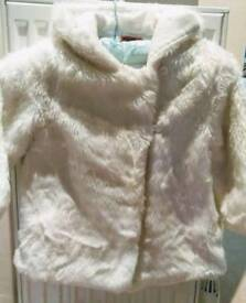 Designer Mayoral fur coat