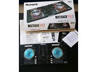 Numark Mixtrack Pro 3 brand new DJ Set