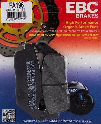 EBC Front Brake Pads FA196 Honda CB 500 X XA CBR 500 R RA