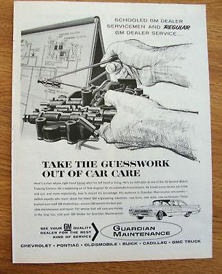 1963 Guardian Maintenance Service Ad  Buick LeSabre