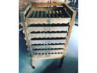 1930's Apple rack : vintage drawers