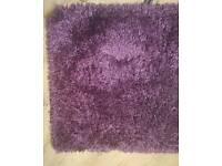 Plun shaggy rug