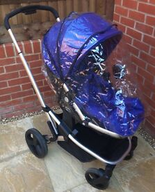 Mothercare Xpedior Travel System (Blue)