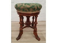 Victorian Revolving Piano Stool (DELIVERY AVAILABLE FOR THIS ITEM OF FURNITURE)