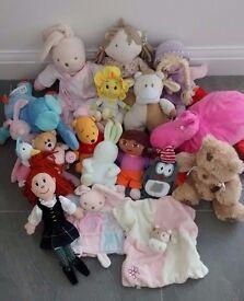 Soft toy bundle. VGC.