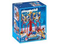 Brand New in Box - Playmobil - Christmas - Sled Carousel