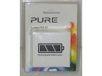 PURE CHARGEPAK E1 RECHARGEABLE BATTERY PACK EVOKE FLOW SENSIA VERONA MIO MODELS*