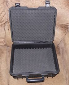 Waterproof & dustproof flight case CD, camera, microphones, RC, drone, mixer case, foam inserts A1