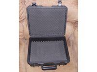 Waterproof & dustproof flight case CD, camera, microphones, RC, drone, mixer case, foam inserts A1