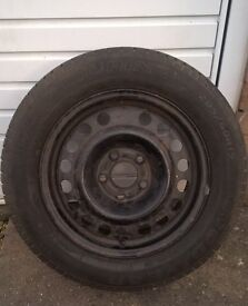 ASTRA STEEL WHEEL WITH NEW TYRE