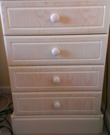 Bed side cabinet x2 for sale