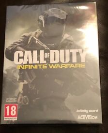 Call of Duty Infinite Warfare Pin Badge Edition, Sealed for Xbox One / PS4