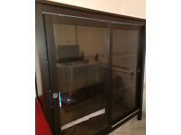 Black Bookcase in Excellent Condition