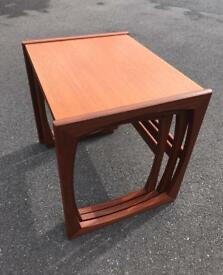 Mid century G plan nest of tables