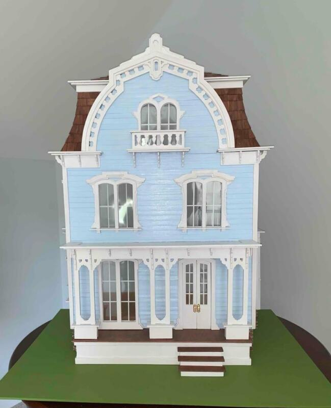 1:12 SCALE GREENLEAF WILLOWCREST VICTORIAN DOLLHOUSE - FULLY ASSEMBLED #2
