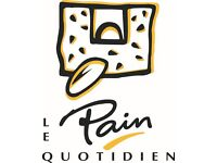 Commis Chefs/Kitchen assistants/KP wanted at Le Pain Quotidien in Canary Wharf