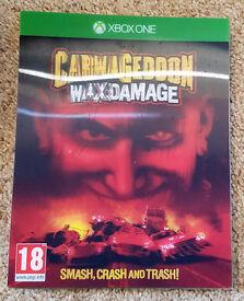 Carmageddon Max Damage Xbox One Game