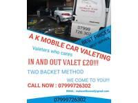 A K mobile car valeting LTD 07999726302