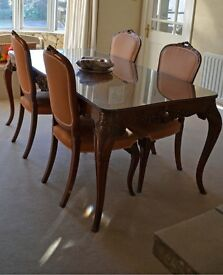 PRICE DROP! Beautiful french dining room suite circa 1900