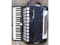 Vintage Parrot Piano Accordion Model 1309 with 80 Bass Buttons & 37 Melodic Keys