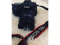 Canon 50D DSLR Camera Body and Lens