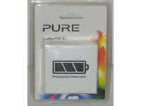 PURE CHARGEPAK E1 RECHARGEABLE BATTERY PACK EVOKE FLOW SENSIA VERONA MIO MODELS*