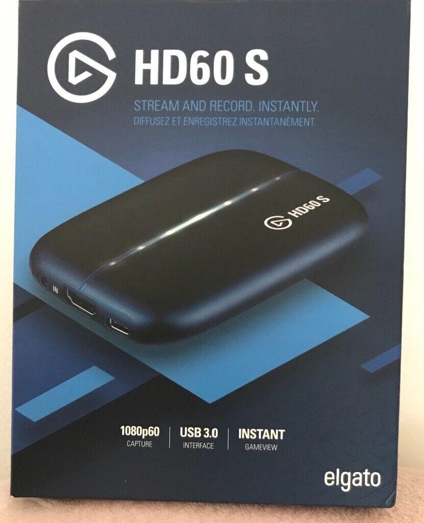 Elgato HD60S Game capture device *USED ONCE*   in Bridgend   Gumtree