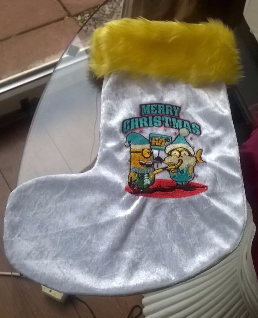 Minions Christmas Stocking
