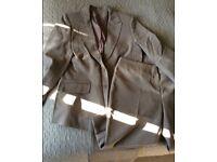 Size 14 new jacket / triuser suit