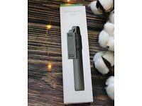 Bluetooth Foldable Extendable Selfie Stick Remote Control Mobile Tripod Black UK